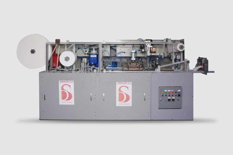Automatic Sanitary Pad making machine – SWACHH 4.0 Saral Designs