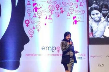 Top Woman Entrepreneur of Empower - Saral Designs
