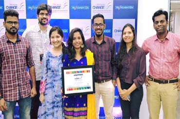 Yes bank award 3 - Saral Designs
